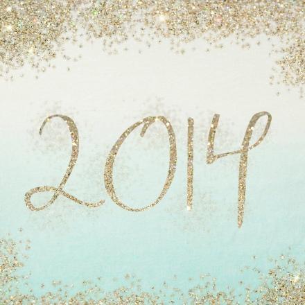2014 Glitter Sign