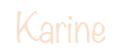 Karine Signature
